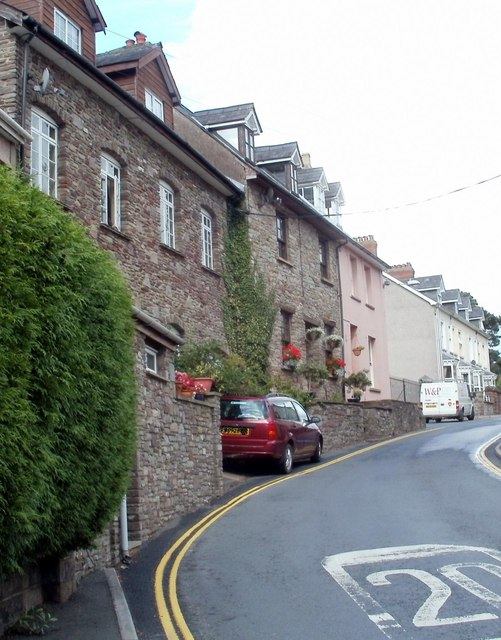 Mount Street, Brecon