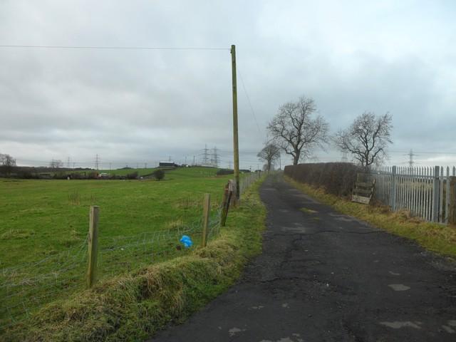 Road to Gartcloss Farm