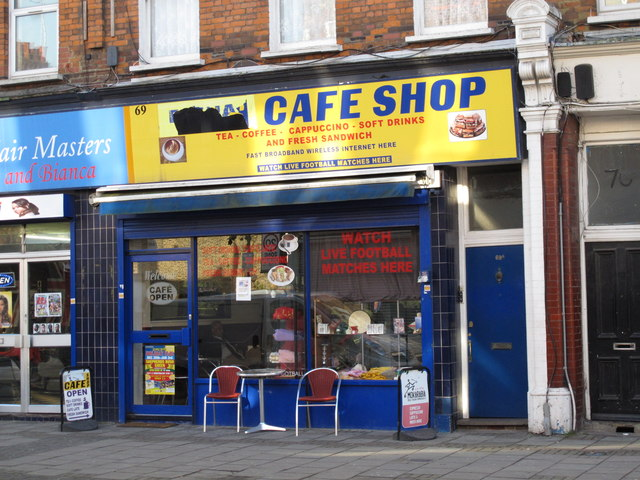 Cafe Shop, 69 Park Parade, NW10