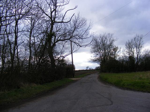 Kersley Hall Lane, Wootten Green