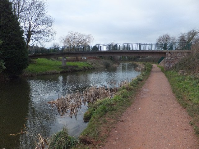 William Authers footbridge over Great Western Canal