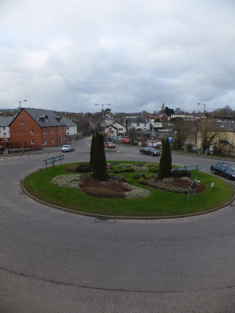 Roundabout on Great Western Way
