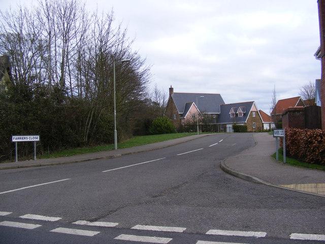 Farriers Close, Stradbroke