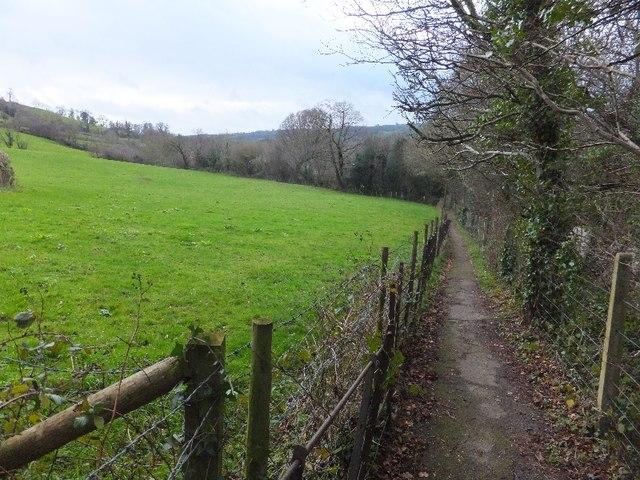 Footpath on Deyman's Hill