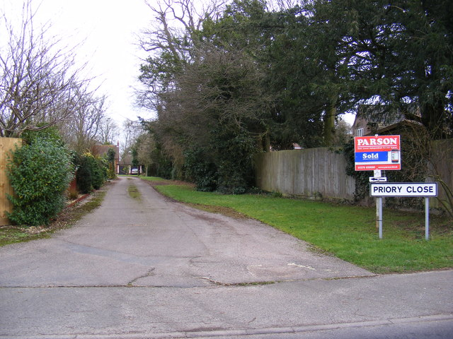 Priory Close, Stradbroke