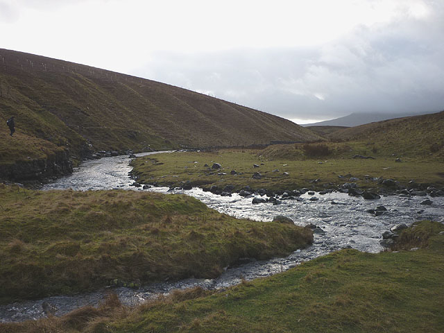 Cam Beck above Ling Gill Bridge