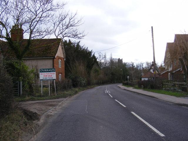B1118 Queens Road, Stradbroke