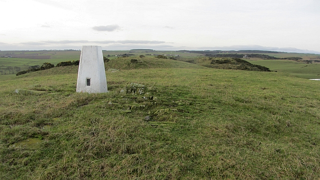 Millar's Moss Hill triangulation station