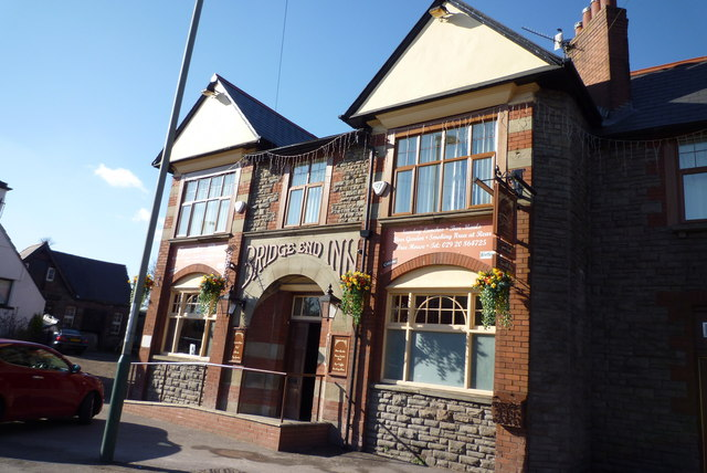 The Bridge End Inn in Bedwas Feb 2010