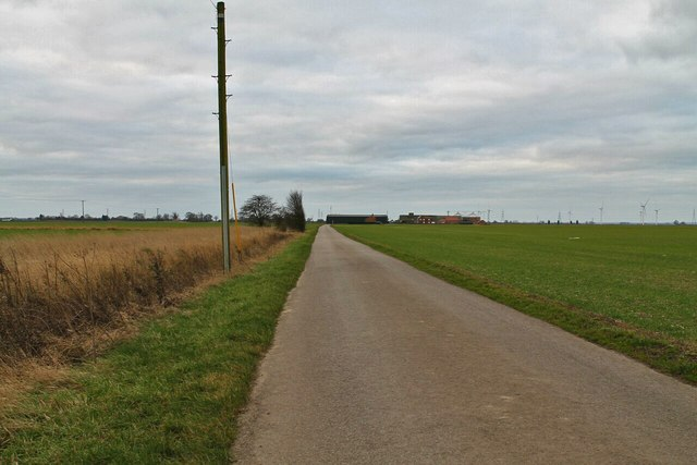Tilebarn Lane near Swineshead