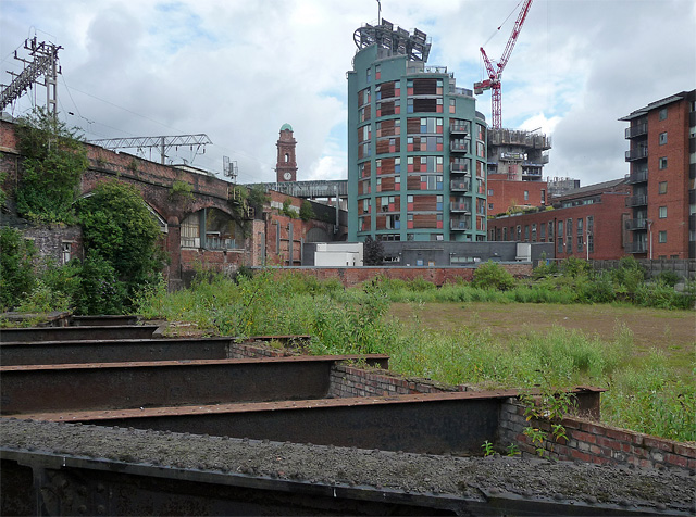 View from Cambridge Street, Manchester