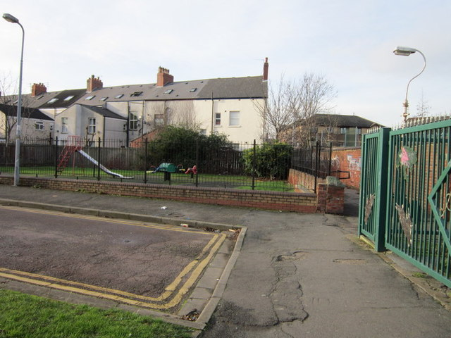 The end of Middleton Street