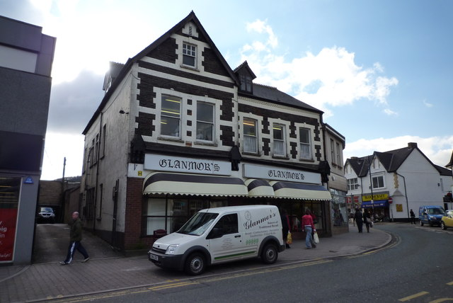 Glanmors bakery in Caerphilly Town Centre