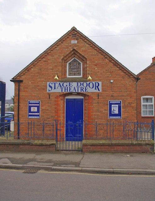 Stage Door Theatre (2), Aston Street, Wem