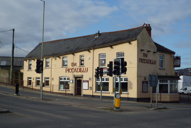 The Piccadilly Pub in Caerphilly taken Feb 2010