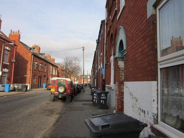 Mayfield Street off Spring Bank, Hull