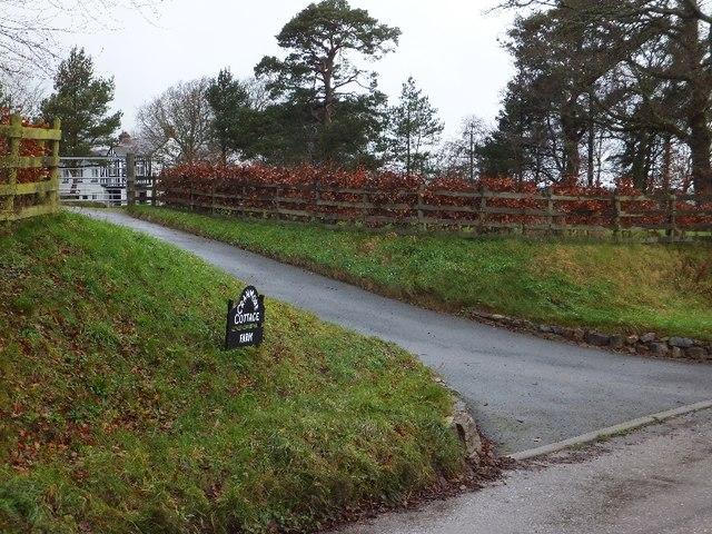 Entrance to Cranmore Cottage Farm