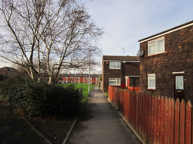 YDG housing on Vane Street, Hull