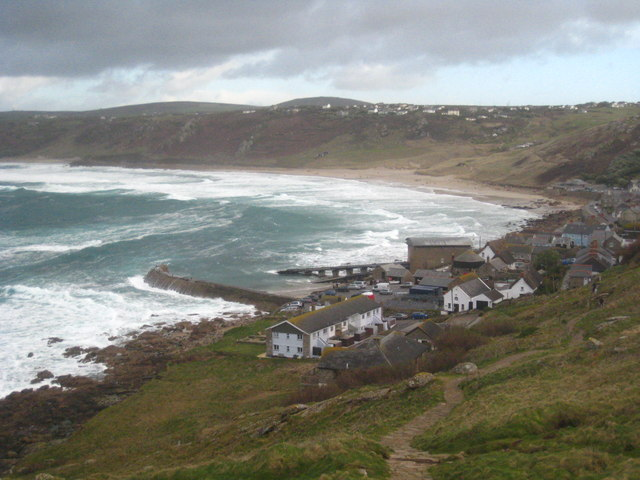 Whitesand Bay and Sennen Cove