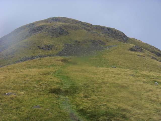 Path heading up to Steel Fell