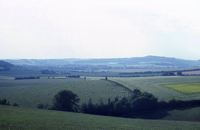 Farmland near Teglease Down