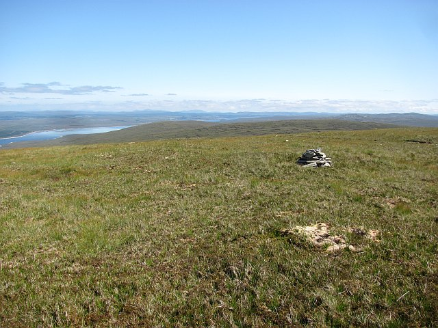 The summit of Maovally
