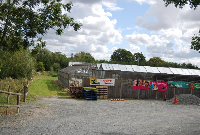 Glasshouses, Laurel Farm