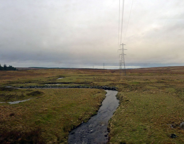Watercourse and Overhead Electricity