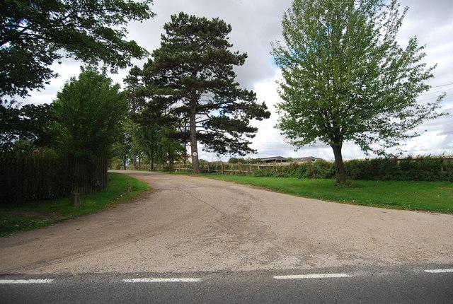 Hill Farm entrance