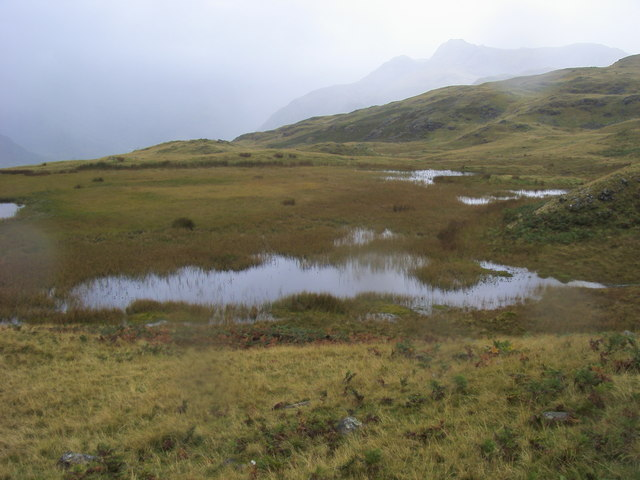 Tarn below Lang How