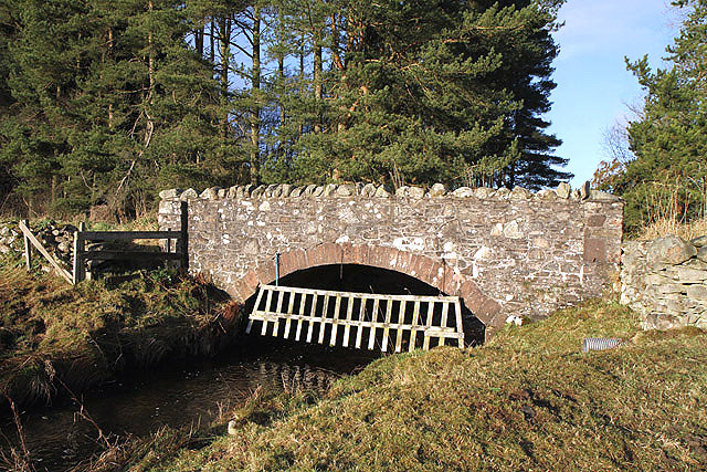 A road bridge over the Allan Water