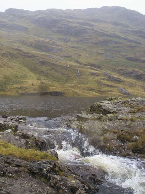 Gill coming out Codale Tarn