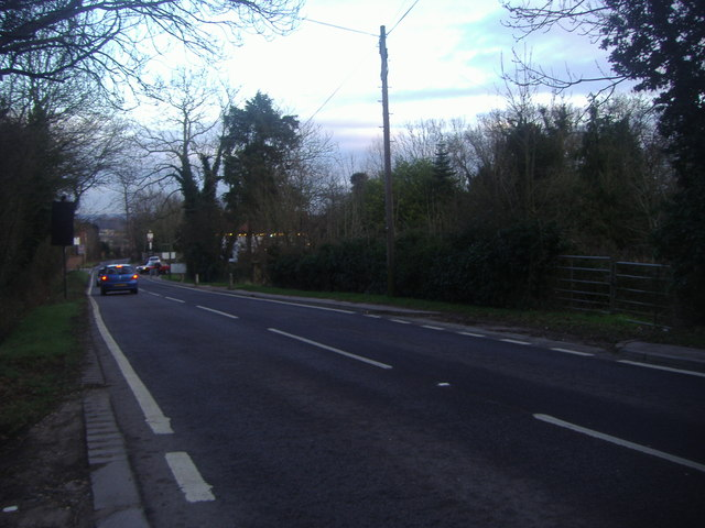 Whitewebbs Lane, Bull's Cross