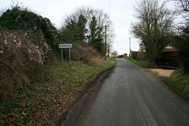 Lane into Crofton