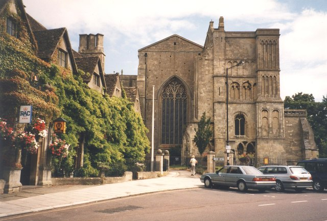 The Abbey and Old Bell Inn, Malmesbury