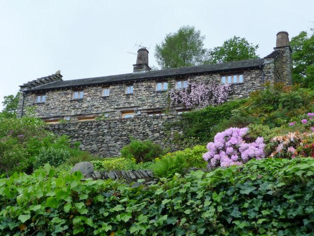 Houses in Troutbeck, Cumbria