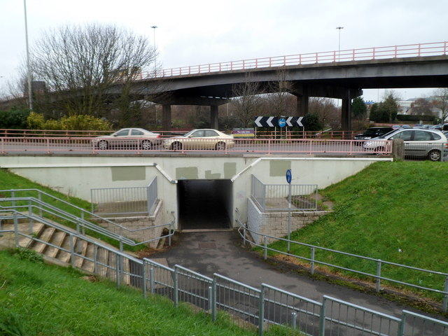 Subway under Gabalfa Interchange, Cardiff