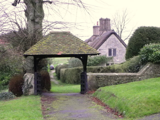 Lych gate, The Church of St Michael and All Angels