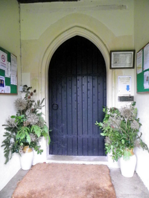South door, The Church of St Michael and All Angels