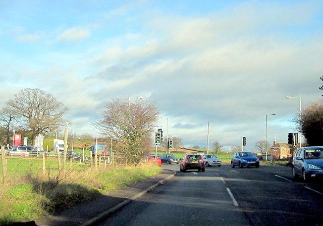 Redditch, Birmingham Road Dagnall End Junction