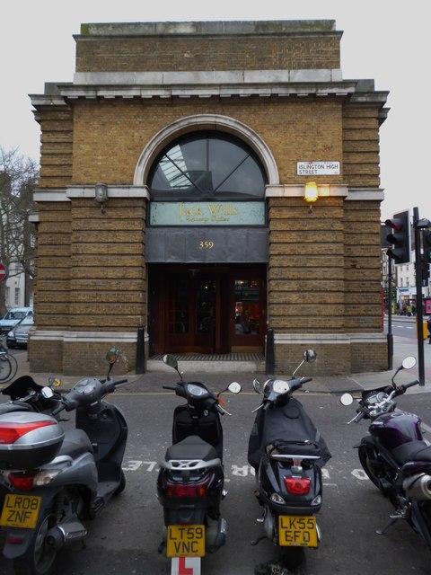 Jack Wills, Islington High Street N1