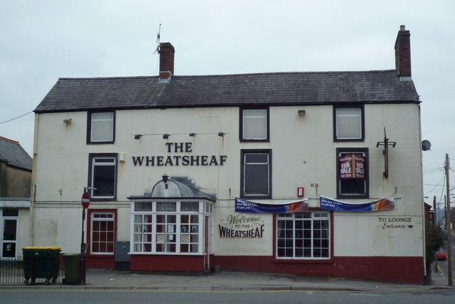 The Wheatsheaf Pub in Caerphilly taken Feb 2010