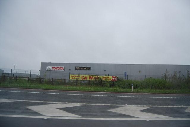 Car dealerships by Junction 44