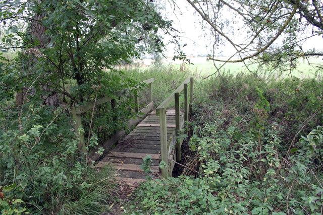 Bridge over Cow Common Brook