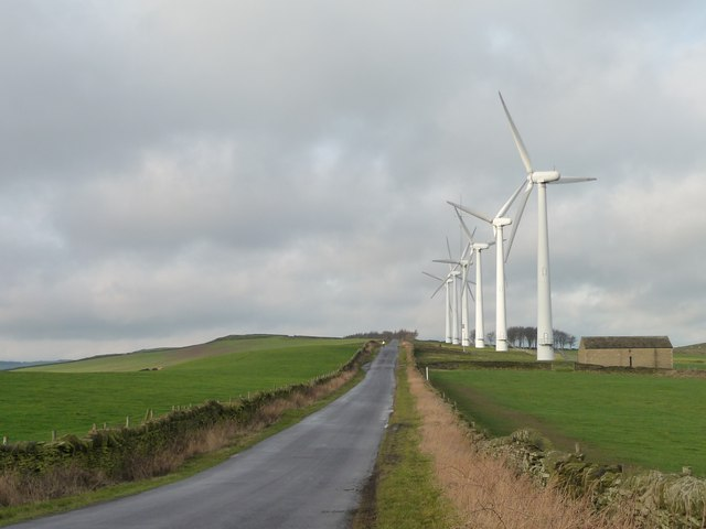 Royd Moor Wind Farm, Whitley Road
