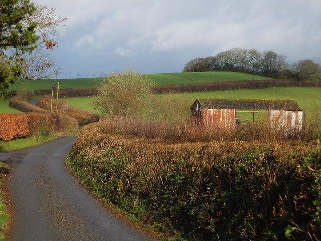 Barn at Swallowhayes Farm