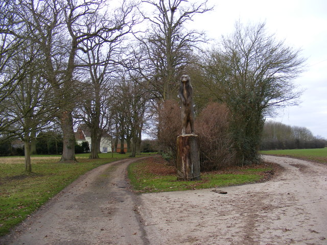 The entrance to Rookery Farm