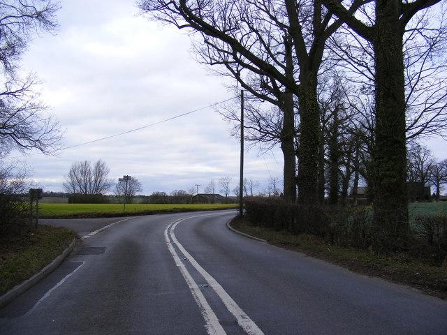 B1118 Chickering Road at Chickering Corner
