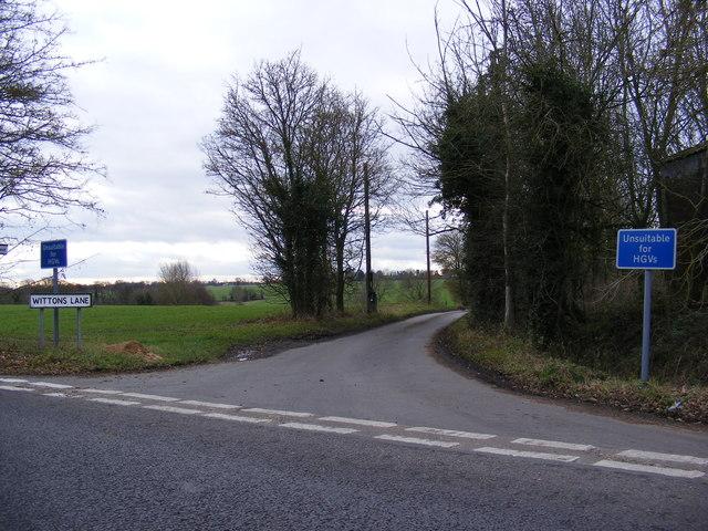 Wittons Lane, Green Street