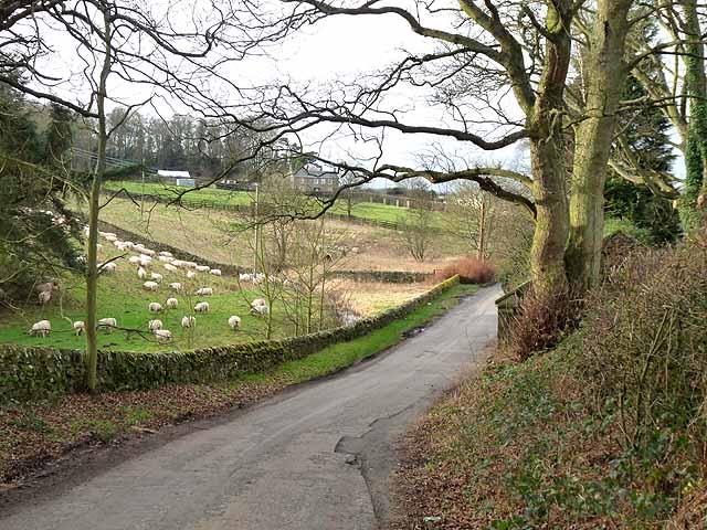 Approaching Middleton village